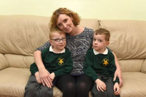 Andrea-Hickey-with-her-4-year-old-boys-Luke-Jackwho-have-cerebal-palsy-and-want-operation-on-the